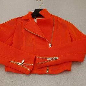 Jackets & Blazers - Raison Detre Netted Motorcycle Jacket